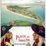 Affiche de promotion du lotissement de Penthièvre (créée en 1905)