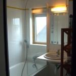 Salle de bain de l'appartement 2 pièces
