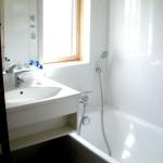 Salle de bain de l'appartement 3 pièces