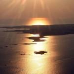 Coucher de Soleil du 4 avril 2007 sur la Presqu'Île de Quiberon