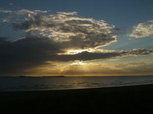 Coucher de Soleil du 7 août 2007 (avant)