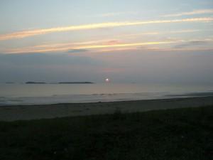Coucher de Soleil du 24 août 2007