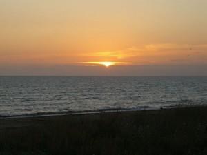 Coucher de Soleil du 8 juillet 2008