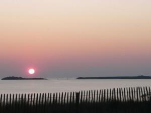 Coucher de Soleil du 20 septembre 2008