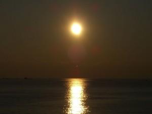 Coucher de Soleil du 12 décembre 2009