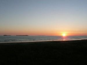 Coucher de Soleil du 25 juin 2011