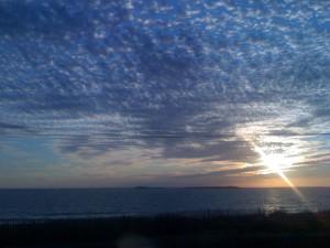 Coucher de Soleil du 22 août 2011