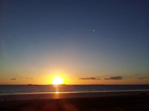 Coucher de Soleil du 14 septembre 2013