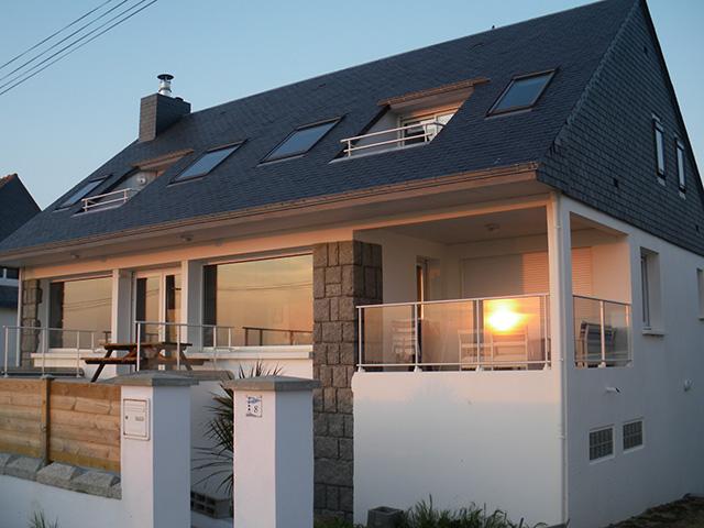 La villa Ventolera au coucher du Soleil