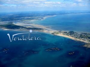 Le littoral vu du ciel, de la Presqu'Île de Quiberon au Golfe du Morbihan