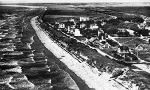 Penthièvre en 1970 (vue vers le nord)