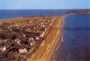 Penthièvre en 1970 (vue vers le sud)