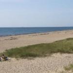 Plage de Penthièvre, coté océan (à l'ouest)